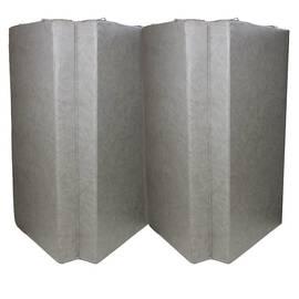 Мат гимнастический складной Midzumi №7 (100 х 200 х 10) см серый, фото