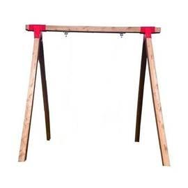 Качельная балка деревянная усиленная, фото