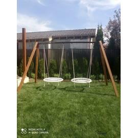 Качели садовые ХИТ с двумя качелями гнездо 100 см, фото