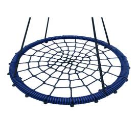 Качели - гнездо BABY-GRAD 115 см, Диаметр кольца: 115 см, Цвет качелей: Черно/синий, фото