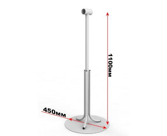 Кронштейн мобильный однорядный с круглым основанием, фото