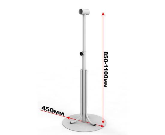 Кронштейн мобильный регулируемый с круглым снованием, фото