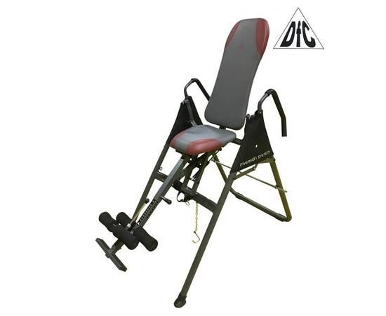Инверсионный стол с сиденьем DFC SJ7200A складной, фото
