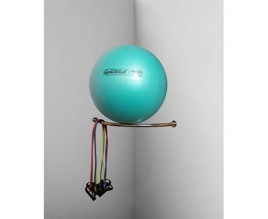 Угловая консоль для одного фитбола, Вариант исполнения: Под мяч 55 см, фото