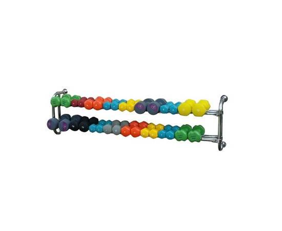 Подвесная консоль для 16 пар гантелей, фото