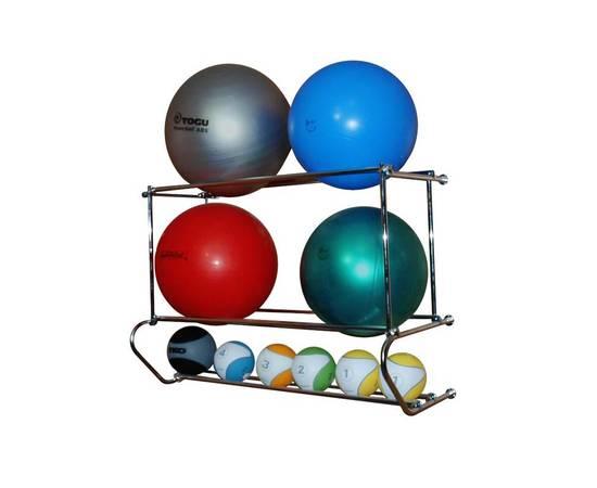 Консоль 3 уровневая для фитболов и медболов (1 п.м.), фото