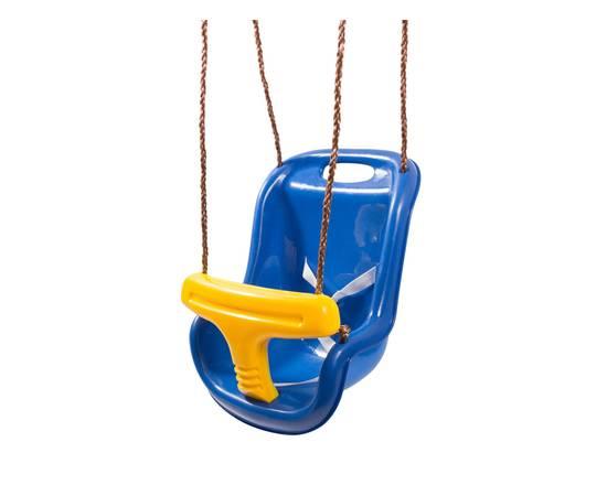 Качели 2 в 1 (люкс) Синие, фото