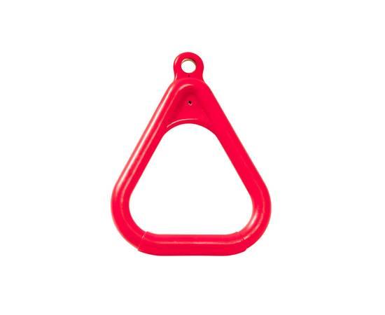 Кольцо гимнастическое треугольное Красное, фото