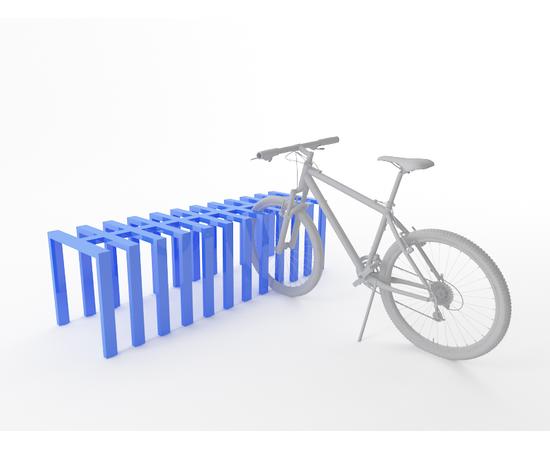 Велопарковка Батарея на 12 веломест, фото