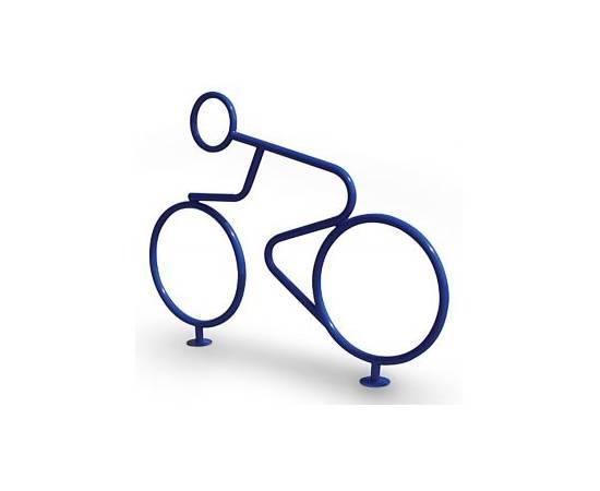 Велопарковка Велогонщик, фото