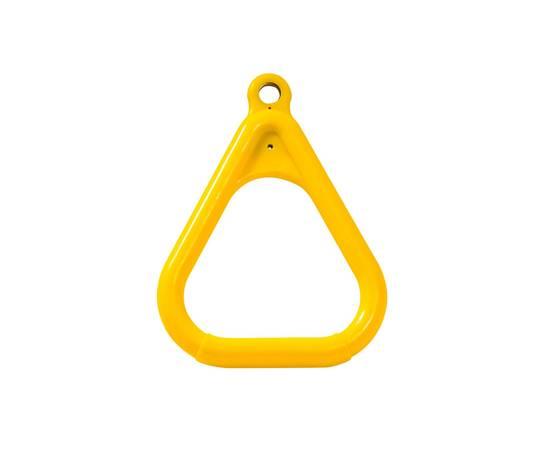 Кольцо гимнастическое треугольное Желтое, фото