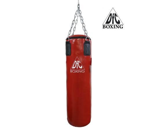 Боксёрский мешок DFC HBPV2.1 красный 100х30, фото