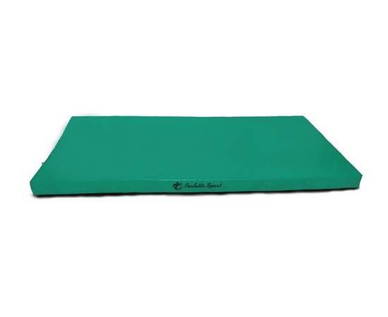 Мат гимнастический PERFETTO SPORT № 6 (100 х 200 х 10) см зелёный, Цвет: Зеленый, фото