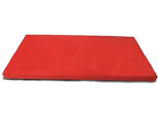 Мат гимнастический № 9 (100 х 150 х 10) см красно/жёлтый, Цвет: Красно/жёлтый, фото