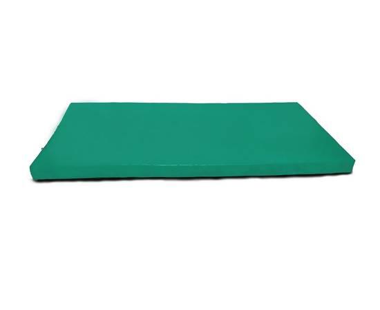 Мат гимнастический № 9 (100 х 150 х 10) см зелёно/жёлтый, Цвет: Зелёно/жёлтый, фото