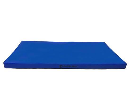 Мат гимнастический PERFETTO SPORT № 6 (100 х 200 х 10) см синий, Цвет: Синий, фото